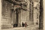 Charles Phillipe | L'hôtel des Archives rue du Loup (20e siècle) | Huile sur toile, 26,8 x 21,8 cm | N° d'inventaire Bx 1953.6.2