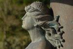 Statue du parc Chavat à Podensac, Gironde